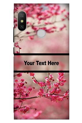 3D - Xiaomi Redmi 6 Pro Autumn Flowers Mobile Cover