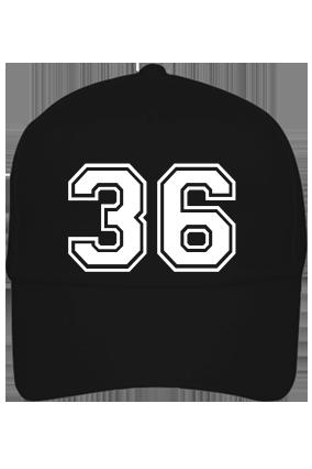 Trendy 36 Cotton Black Cap