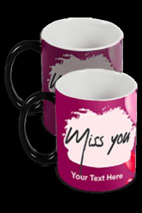 Miss You Black Magic Mug