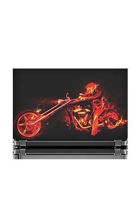 Bike Rider Laptop Skin