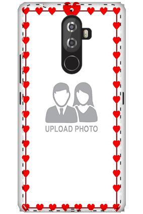 3D- Lenovo K8 Note Heart Valentine's Day Mobile Cover