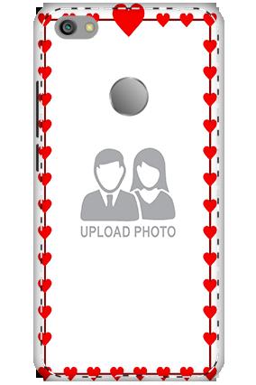 3D - Xiaomi Redmi Note 5A Heart Valentine's Day Mobile Cover