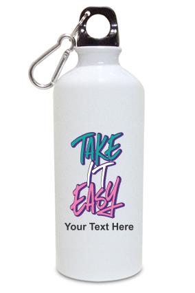 Take it Easy Customized Kids White Color Sipper