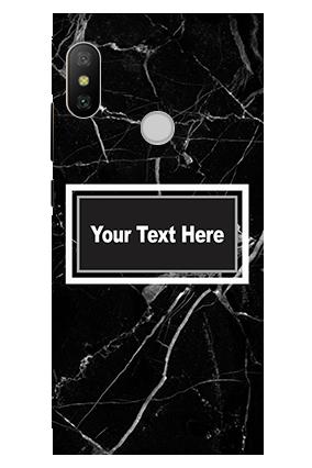 3D - Xiaomi Redmi 6 Pro Broken Glass Mobile Cover