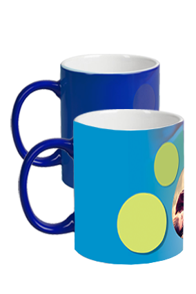 Blue Celebrations Magic Mug