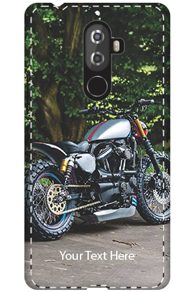 3D - Lenovo K8 Note Bike Image Mobile Cover