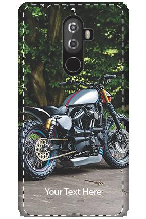 3D - Lenovo K8 Note Bike Image Mobile Cover