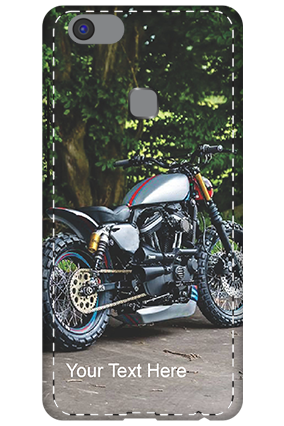 3D - Vivo V7 Plus Bike Image Mobile Cover