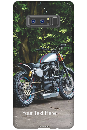3D - Samsung Galaxy Note 8 Bike Image Mobile Cover