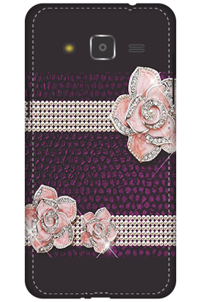 3D - Samsung Galaxy J2 Ribbon Printed Mobile Cover