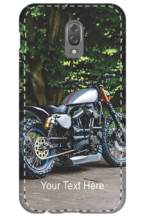 3D - Infinix Hot 4 Bike Image Mobile Cover