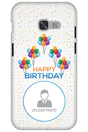 3D-Samsung Galaxy A3 (2017) Birthday Greetings Mobile Cover