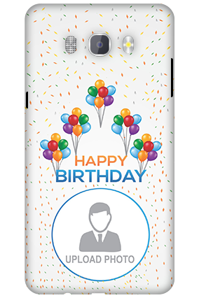 3D-Samsung Galaxy J7 New Edition 2016 Birthday Greetings Mobile Cover