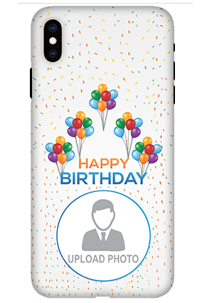 Apple iPhone XS Max Birthday Greetings Mobile Cover