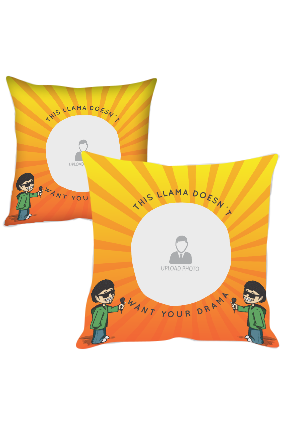 Light Rays Polyester Cushion Cover