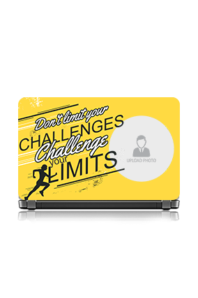 Challenge Your Limit Vinyl Laptop Skin
