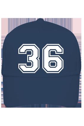 Trendy 36 Cotton Blue Cap