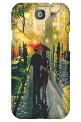 Customized Samsung Galaxy S3 Neo Romantic Walk Mobile Cover