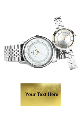 Titan Full Steel P3H Wrist Watch