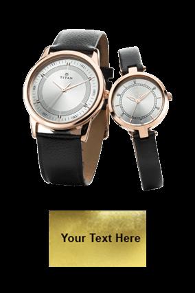 Titan Full Rosegold P3H Wrist Watch