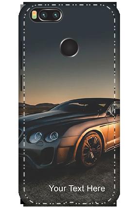 3D - Xiaomi Mi A1 Luxury Car Mobile Cover