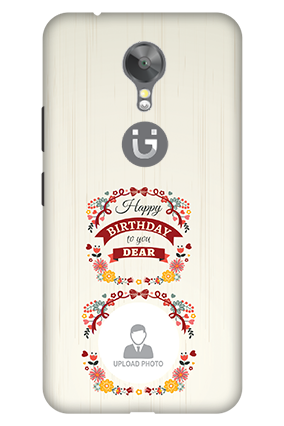 3D - Gionee A1 Birthday Wishes For Dear Mobile Cover