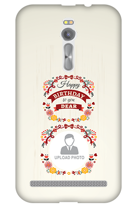 3D - Asus ZenFone 2 Birthday Wishes For Dear Mobile Cover