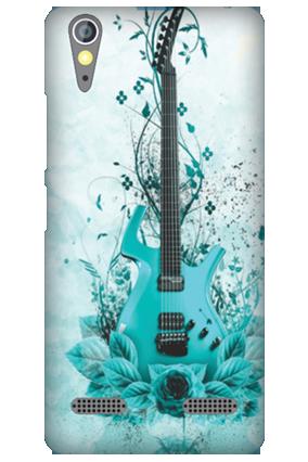 Lenovo A6000 Blue Guitar Mobile Cover