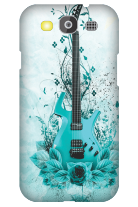 Samsung Galaxy S3 Neo Blue Guitar Mobile Cover