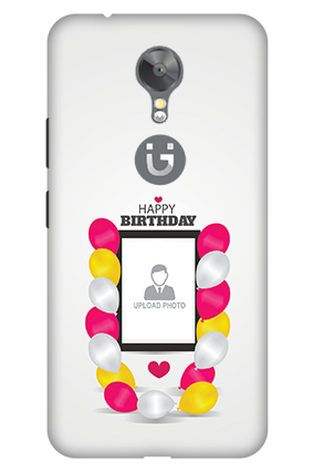 3D - Gionee A1 Birthday Balloons Mobile Cover