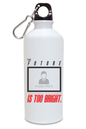Future is Bright Customized Kids White Color Sipper