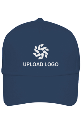 Upload Logo Designer Blue Cap
