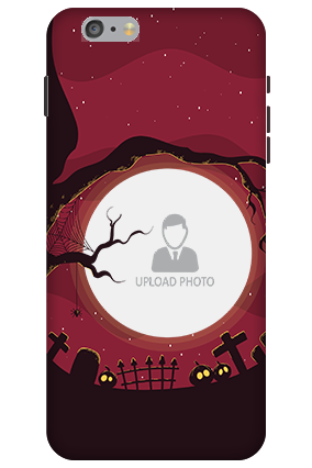 3D-Apple iPhone 6 Plus Halloween Mobile Cover