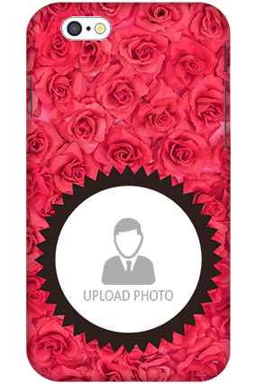 3D-iPhone 6 Personalized Roses Mobile Cover