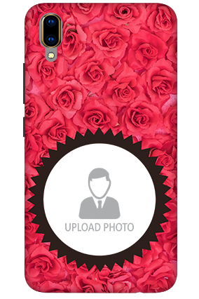 3D-Vivo V11 Pro Personalized Roses Mobile Cover