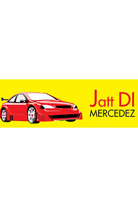 Custom Mercedez Car Bumper Sticker
