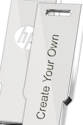 Create Your Own HP Metal Pen Drive (V232)