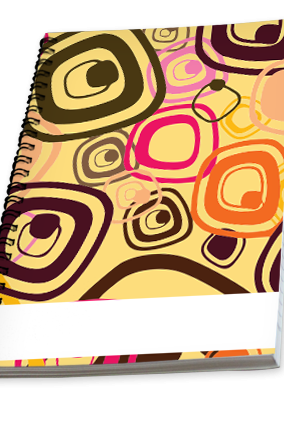 Customize Colored Campus Notebook