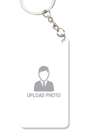 Upload Photo Small Rectangle Key Chain