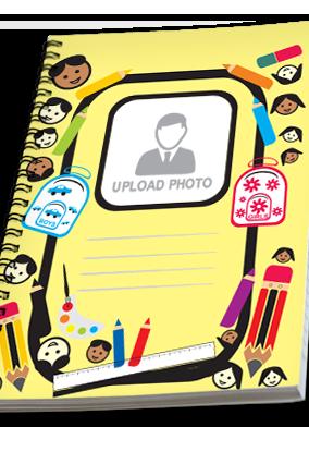 Designer Cute Kid Notebook