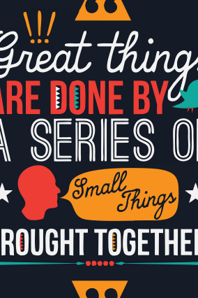Great Things Poster