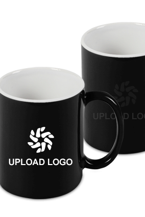 Upload Company Logo Black Magic Mug