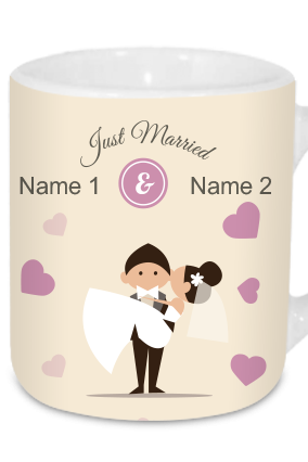 Just Married Tea Mug