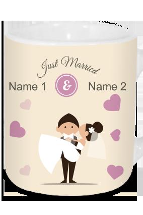 Just Married Tea Mug