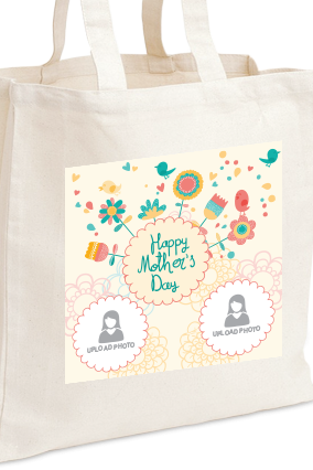 Colorful Mother's Day Tote Bag