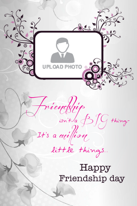 Friendship Day Elegant Card