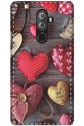 3D - Lenovo K8 Note The Falling Love Mobile Cover