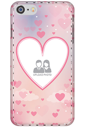 3D - Apple iPhone 8 Love & Heart Anniversary Mobile Cover