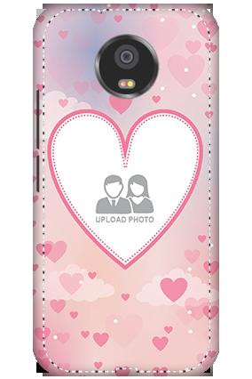 3D - Motorola Moto G5S Love & Heart Anniversary Mobile Cover