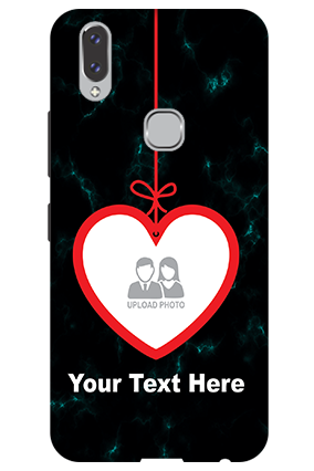 3D - Vivo V9 Hanging Heart Mobile Cover